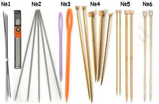 Какие спицы и крючки лучше для вязания 50